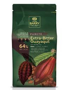 dark choc 64% cocoa barry 500g