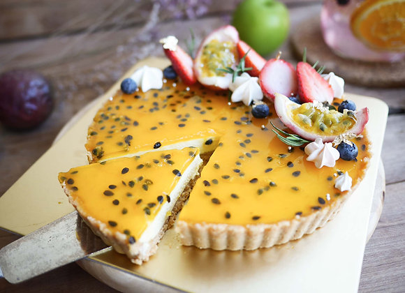 Passion fruit pie crust 24/3