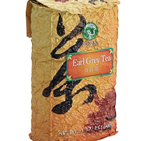 Earlgrey tea ยกลังตรา Possmei ไต้หวัน 600 กรัม 10ถุง