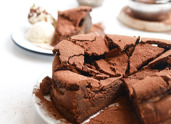 Broken Chocolate Cake