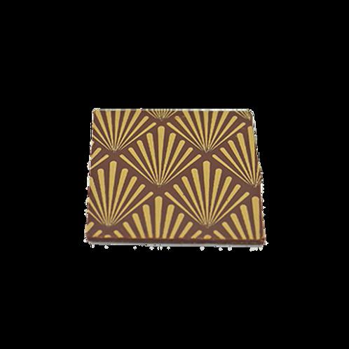 brown gatsby square 3x3cm 100 pcs (pre order)