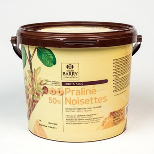 hazelnut paste 50% sweet ตรา cocoa barry 250g