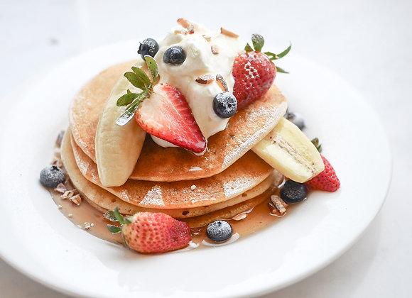 Pancake banana strawberry 26/5