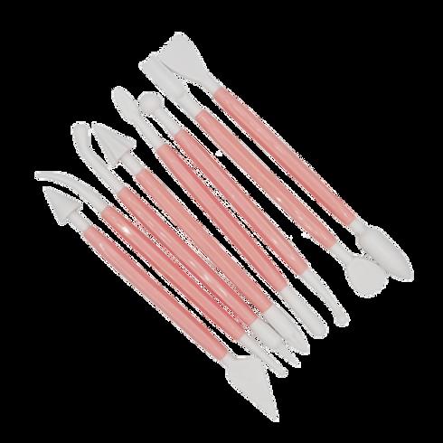 ชุดปั้นฟองดอง  fondant tool set 8 ชิ้น