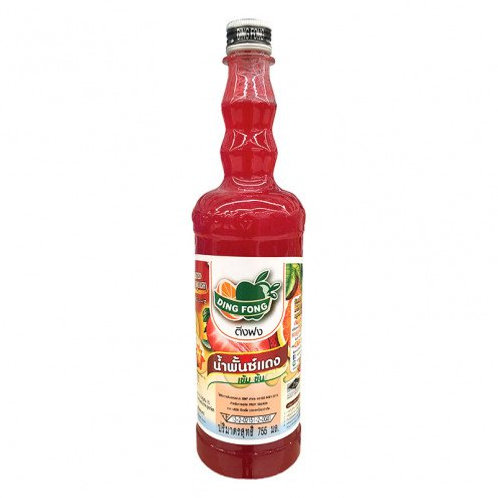 red punch syrup ตราติ่งฟง