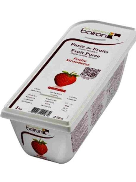 strawberry puree 1kg Boiron