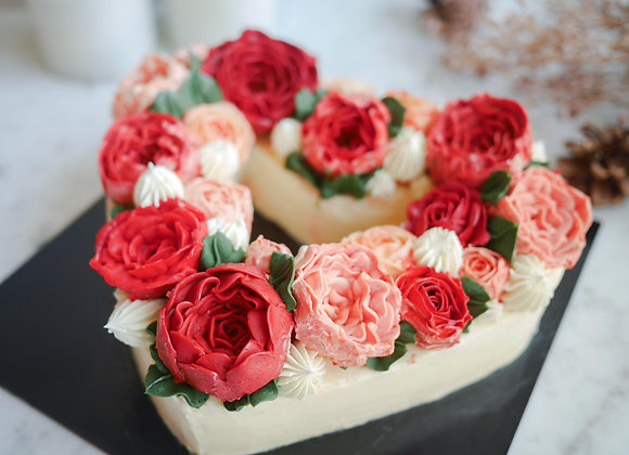 You're my Valentine เค้กดอกไม้สไตล์เกาหลี 14/2