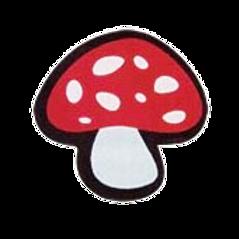 ชอคตกแต่ง mushroom 3 cm 100 pcs (pre order