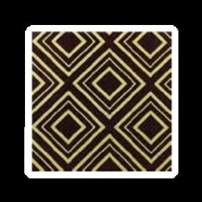 ชอคตกแต่ง dazzling black  square 3x3 cm 100pcs (pre order)