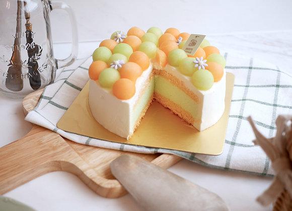 Melon Cake 9/6