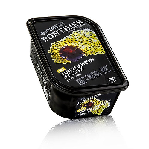 Passion fruit puree 1 kg Ponthier