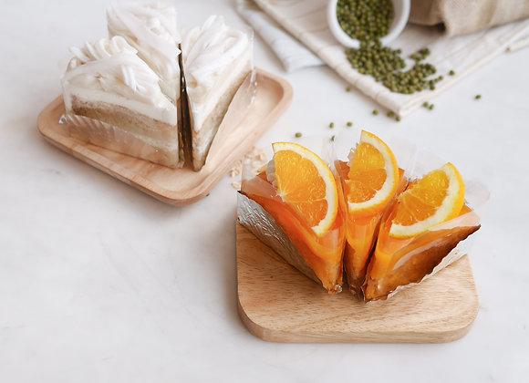 เค้กเจ Vegan orange 20/9