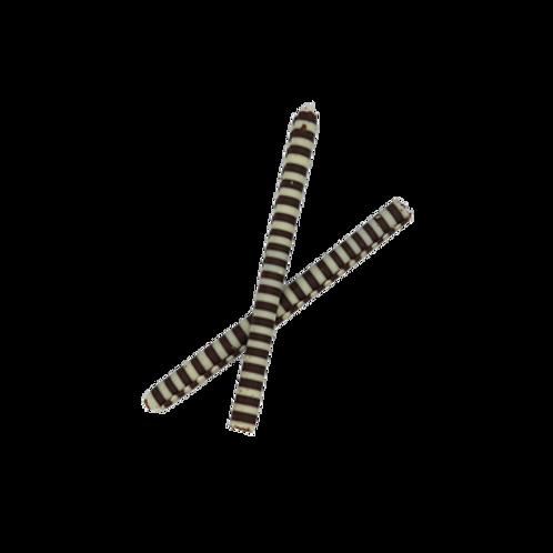 cigar black and white long 10cm 100pcs  (pre order)