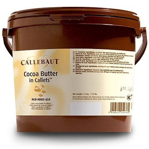 cocoa butter callebaut  500g