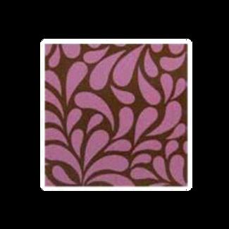 ชอคตกแต่ง bloom pink square 3 cm 100 pcs (pre order)