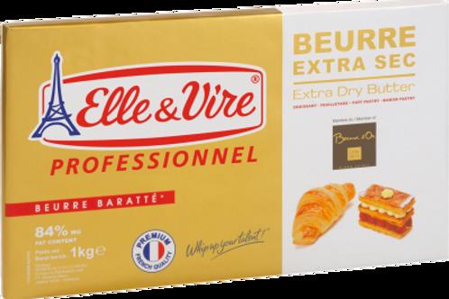 เนยextra dry butter Elle & Vire 1Kg