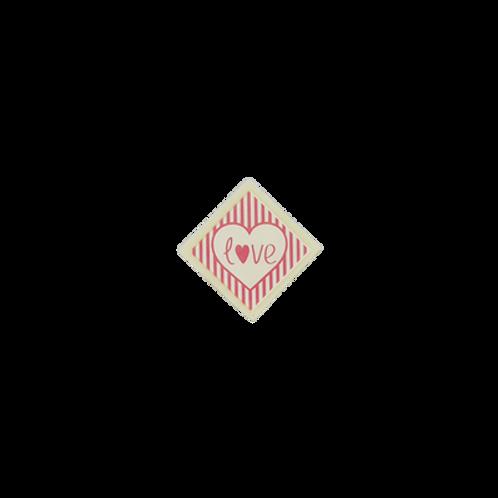 love square 3x3cm 100 pcs (pre order)