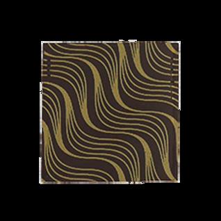 ชอคตกแต่ง wave gold  3 cm 100 pcs (pre order)
