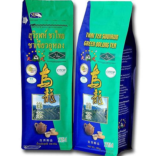 ชาเขียวอู่หลงเชียงราย 100 กรัม