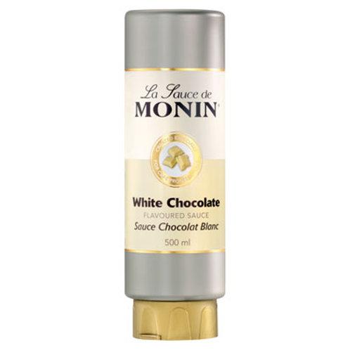 monin white chocolate sauce500ml