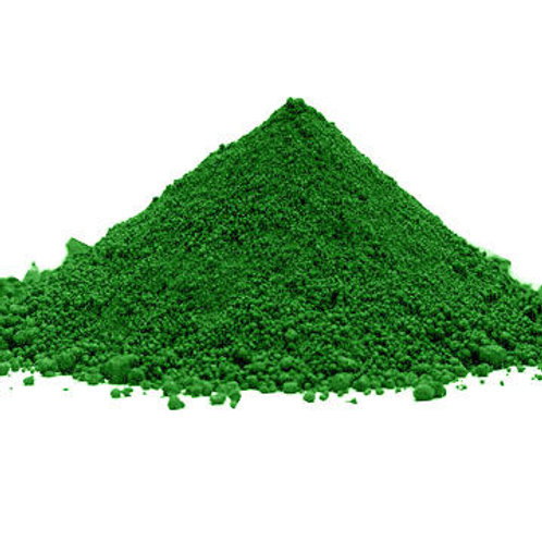 green สีผงทำชอคโกแลต50g décor relief