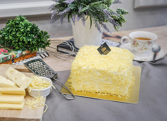 C31 Cheddar cheese cream cake