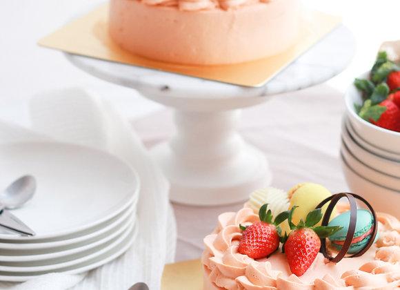Thai tea cream cake 22/2