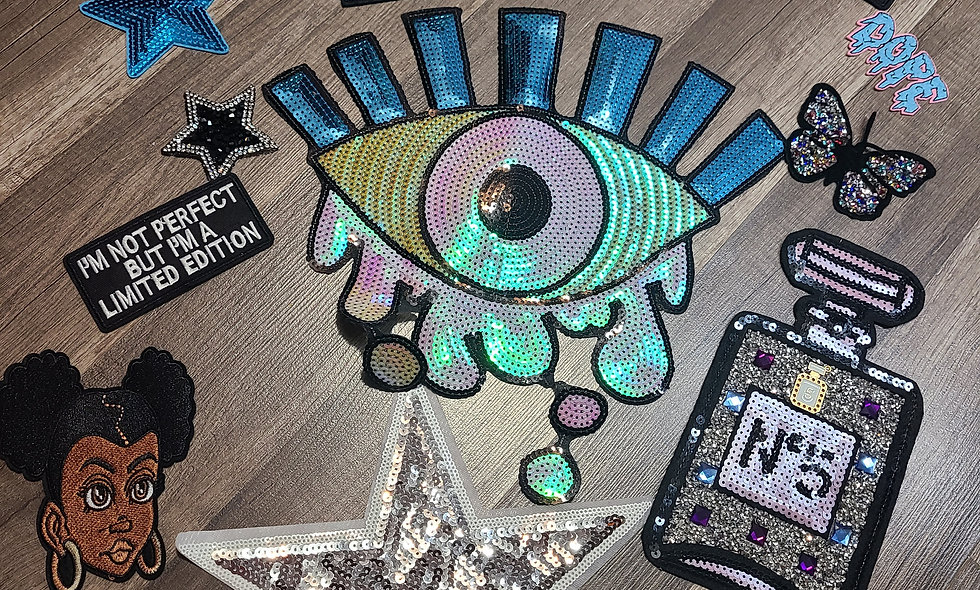Eye Am a Star Patch Set