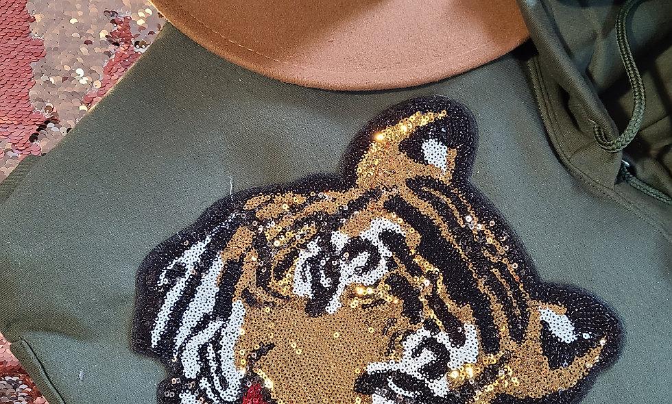 Tiger Hoodie Set