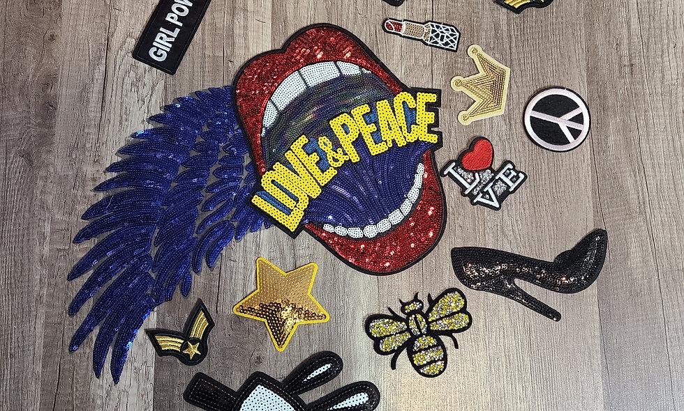 Love & Peace Patch Set