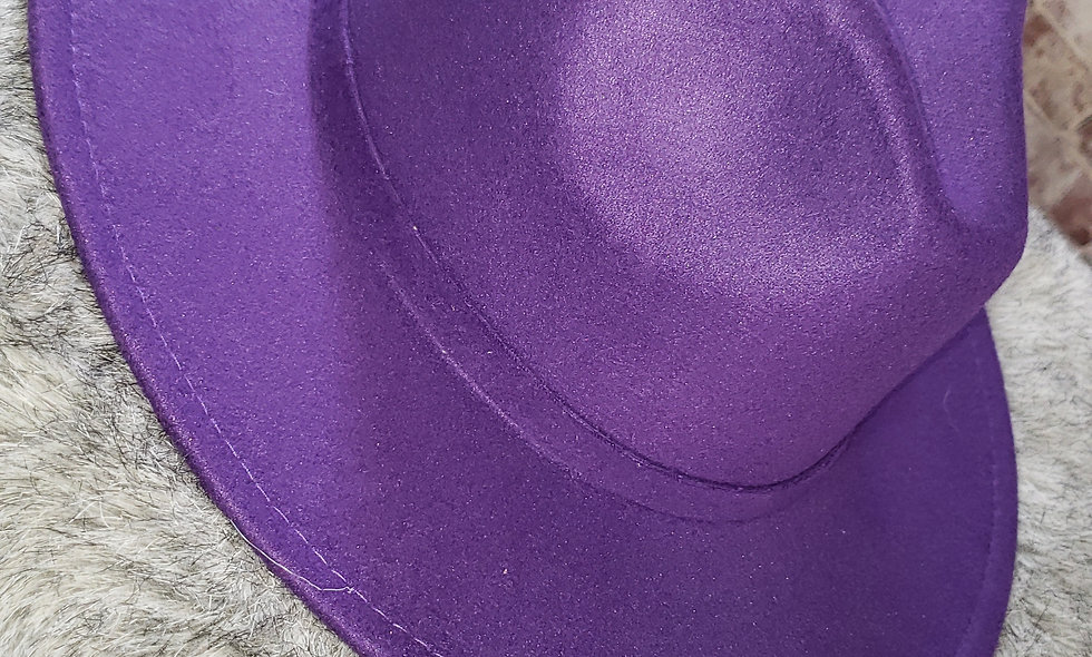 Purple Rain Fedora
