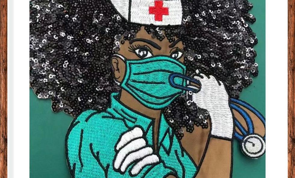 Black Nurse Patch