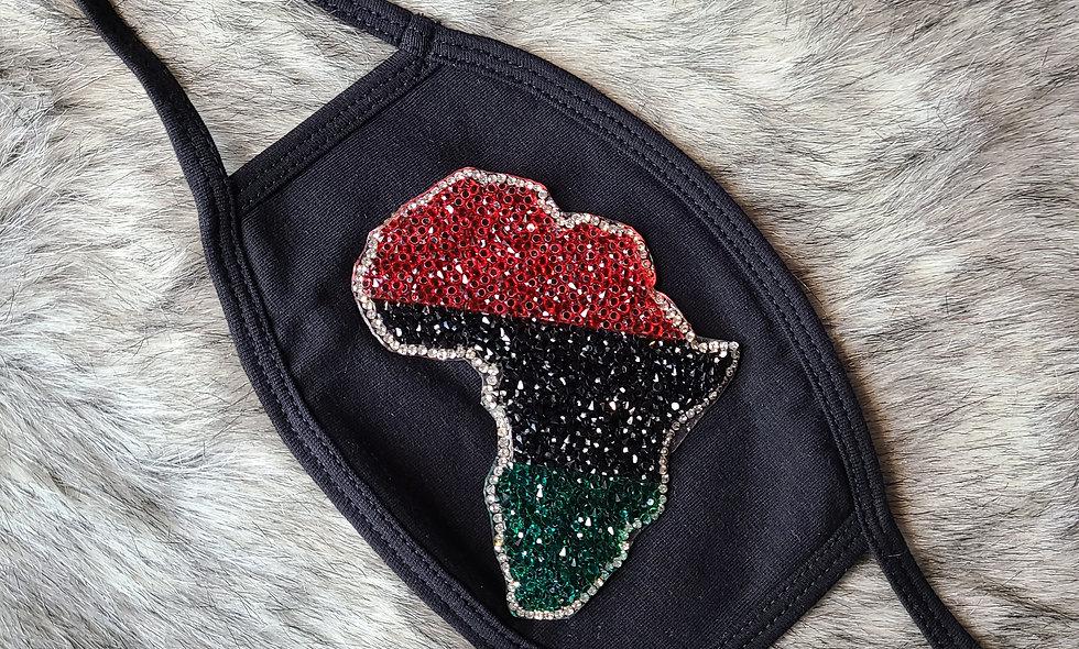Pan Africa Bling Mask