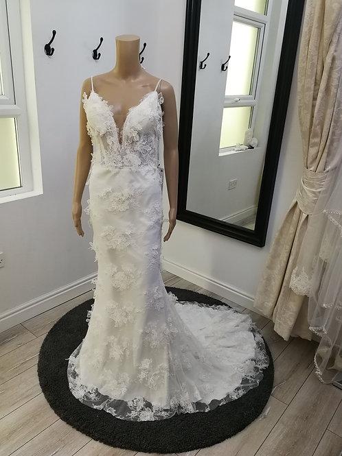Boho Trumpet Style Wedding Dress