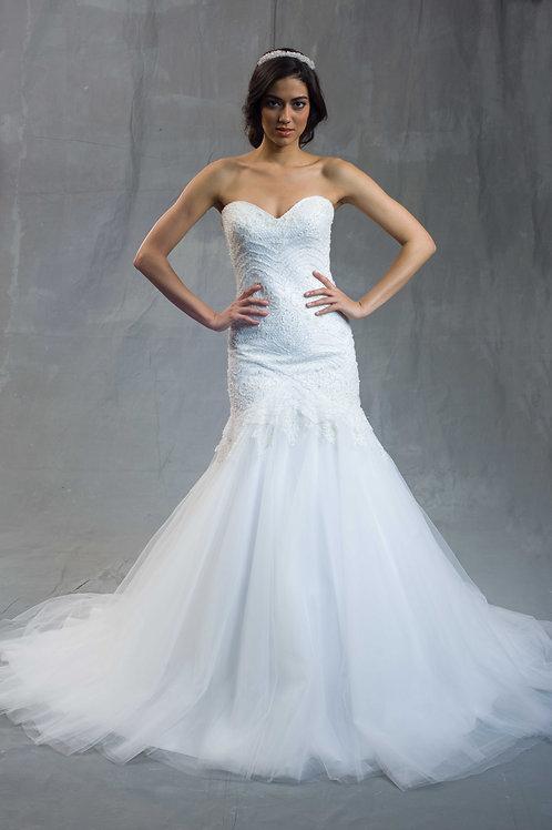 Embellished Mermaid Dress
