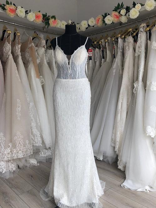Wedding dress size8/10