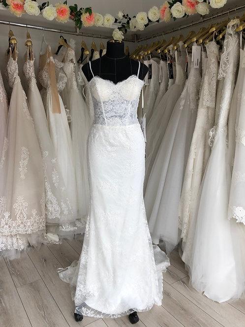 Wedding dress (code 205), size 8
