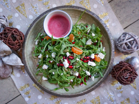 Pomegranate Arugula Salad