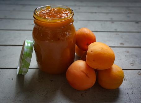 Apricot Cardamon Jam