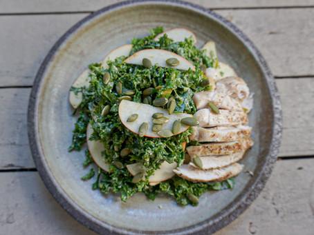 Chicken Kale Caeser