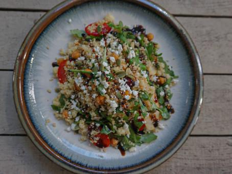 Arugula Cous Cous Salad