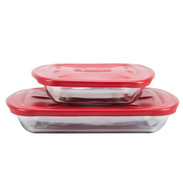 Bake dishes w/ lid