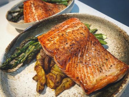 Easy 20 minute Salmon!