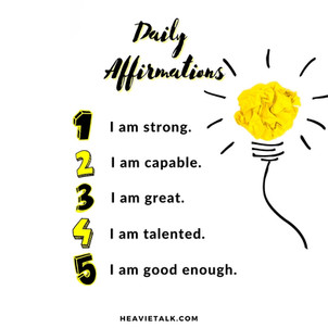 Client Work: Daily Affirmations