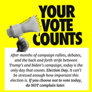 Client Work: Your Vote Counts
