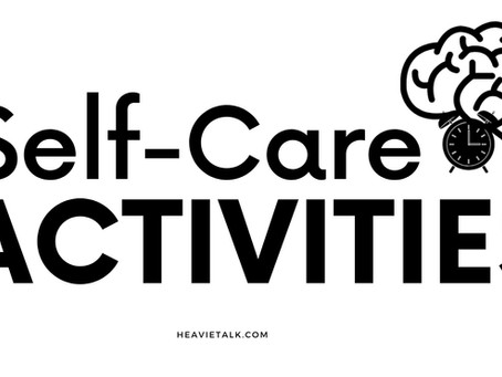 Self Care: What are self-care activities?