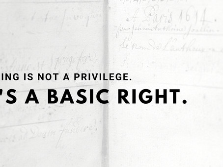 Voting is not a privilege. It's a basic right.