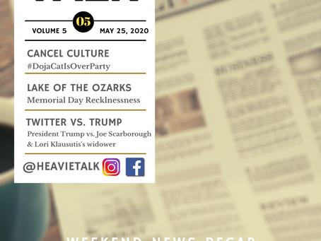 Volume 5   Weekend News Recap : A Weekend Full of Controversies