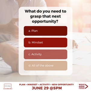 Client Event Flyer: Question of the Day