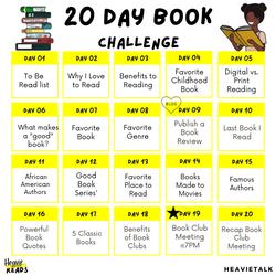 HeavieReads Book Challenge